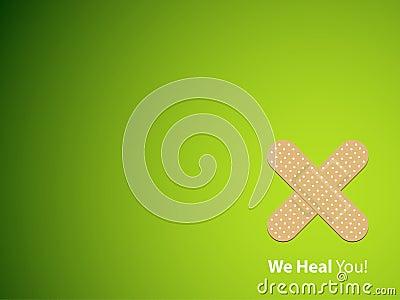 Nous vous guérissons - fond