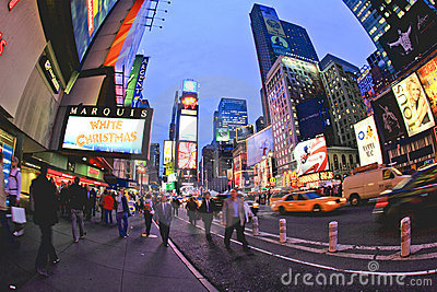 Nov 4, 2008 - The Times Square in NYC Editorial Photo