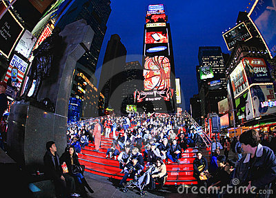 Nov 4, 2008 - The Times Square in NYC Editorial Photography