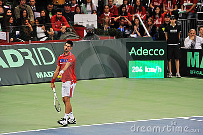 Novak Djokovic Editorial Photography