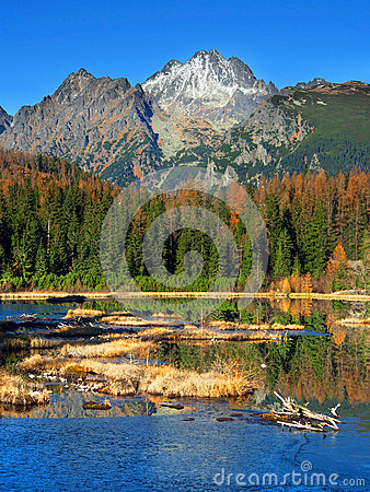Free Nove Strbske Pleso, High Tatras In Autumn Royalty Free Stock Photos - 27736318