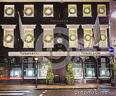 Prezzi Tiffany Londra