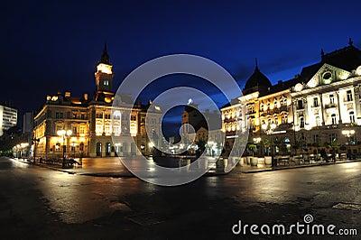 Novi Sad, City Hall Editorial Photo