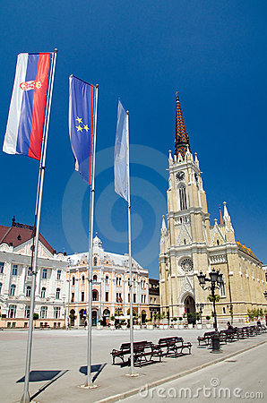 Novi Sad - The Name of Mary Cathedral