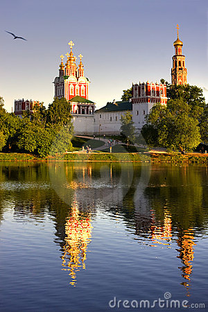 Free Novodevichy Convent Royalty Free Stock Photography - 9803507