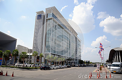Novotel Hotel at Muang Thong Thani Editorial Stock Image