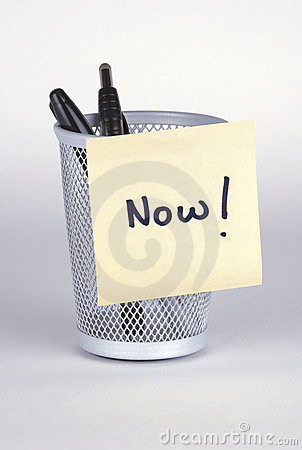 Now! Post-It Note