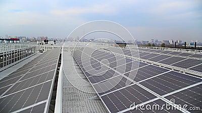 Nowi nowożytni energetycznego źródła panel słoneczny zdjęcie wideo