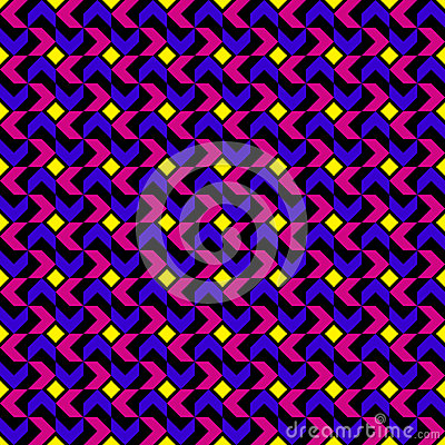 Nowożytnego trendu Geometryczny wzór