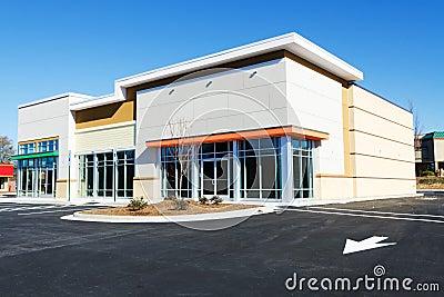 Nowy handlowy budynek