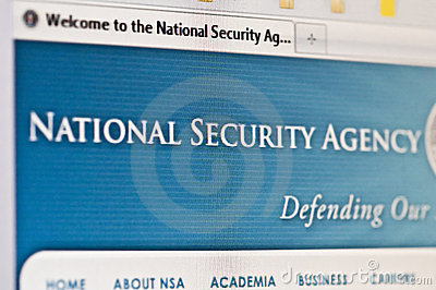 Nsa Editorial Stock Image