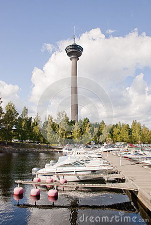 Näsinneula Tower Editorial Image