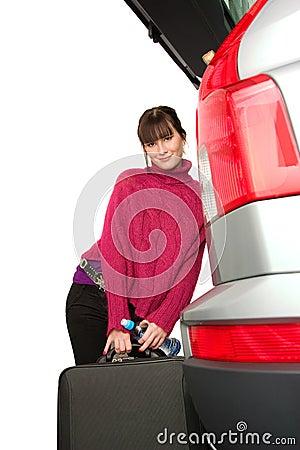 Nätt kvinnor för bil