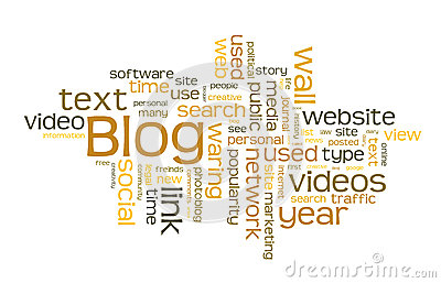 Nube di parola del blog