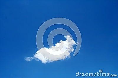Nube solitaria