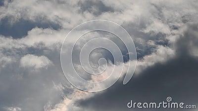 Nubi Nuvole di lasso di tempo archivi video