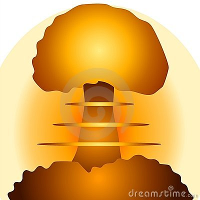 Free Nuclear Bomb Mushroom Cloud 2 Stock Image - 2776101