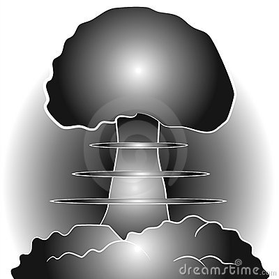 Free Nuclear Bomb Mushroom Cloud Stock Photo - 2776100