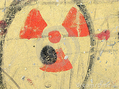 Nuclear danger radiation symbol