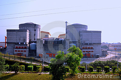 Nuclear electric power plant