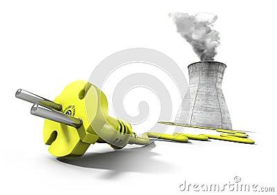Nuclear energy concept