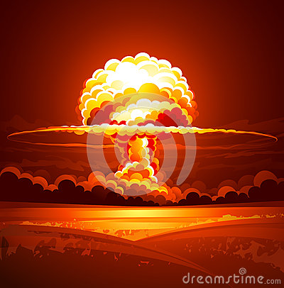 Free Nuclear Explosion Stock Photo - 30517680