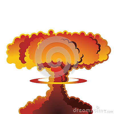 Free Nuclear Explosion Mushroom Cloud Stock Photos - 50470263
