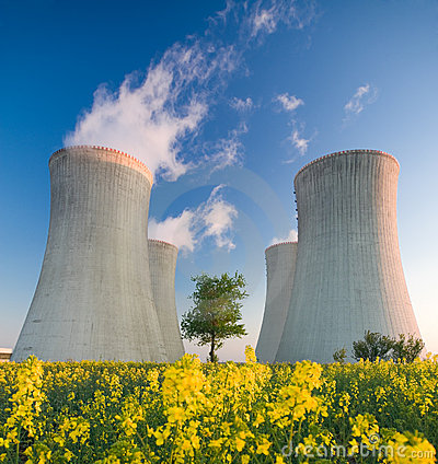 Free Nuclear Power Plant Stock Photo - 9226800