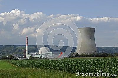 Nuclear power plant, Leibstadt, Switzerland