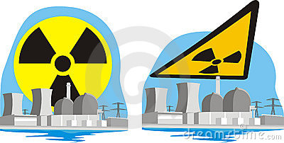 Nuclear power plant - nuclear hazard
