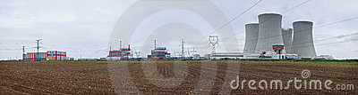 Nuclear Power Plant - Panorama