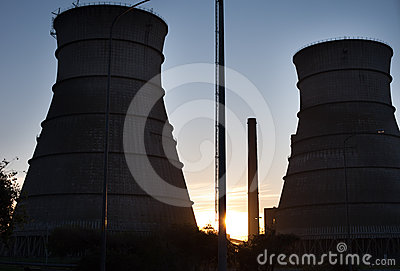 Nuclear Reactor Towers
