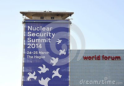 Nuclear Security Summit 2014 Editorial Stock Image