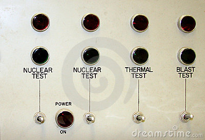 Nuclear test panel