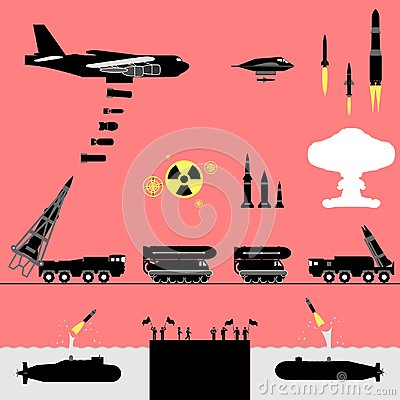 Free Nuclear War Alert Stock Images - 122225494