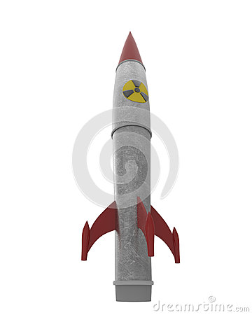 Nuclear warhead with clipping mask