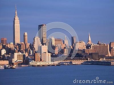 Nueva York azul