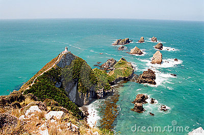 Nugget Point Light House, New Zealand