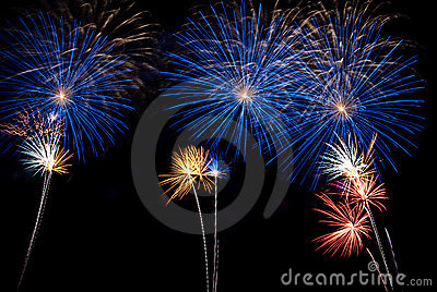 Nuit de feux d artifice