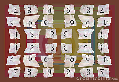 Numéros de papier de graphique