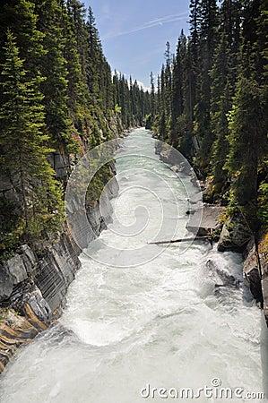 Numa waterfall at Kootenay National Park (Canada)
