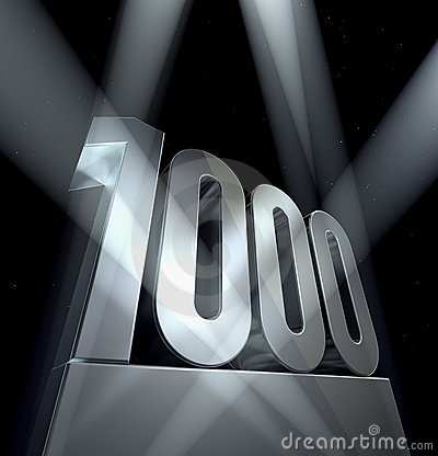 Number 1000 Stock Images Image 17350194
