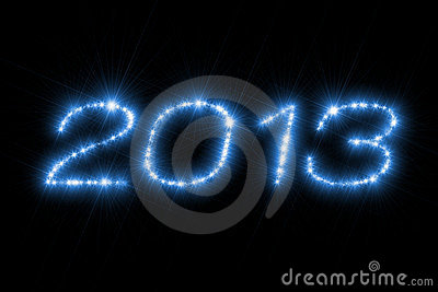Number 2013 New Year