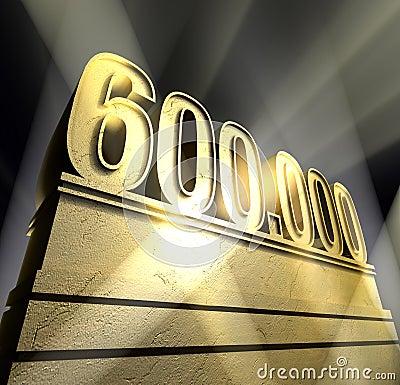Number 600.000