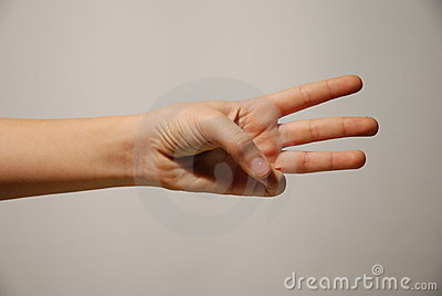 Number 8 hand