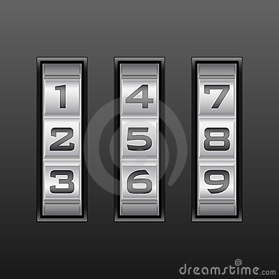 Number combination lock