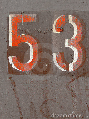 Number fifty three