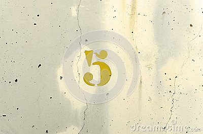 Number Five Yellow