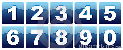 Number icons