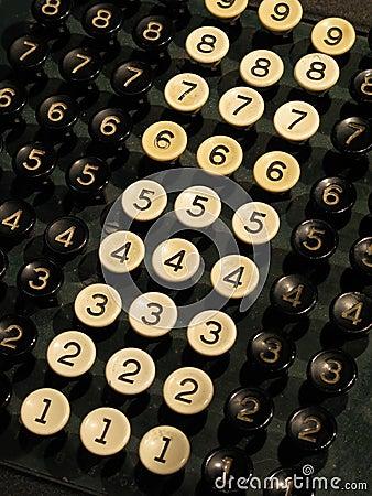 Number keys